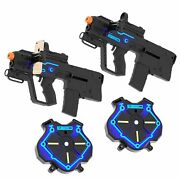 Strike Pros Laser Tag - Reality Gaming Kit Ages 8+ Includes Gun And Vest 2 Pack