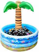 Party Decoration - 37 Inch Inflatable Palm Tree Cooler - Floating Pool Cooler