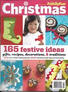 Disney Family Fun Christmas Magazine Festive Projects Gifts Recipes Decorations