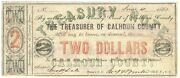 Texas C.s.a. State Calhoun County Indianola M-04 2 June 4 1862 Vg/f