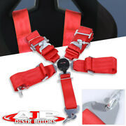 3 One Nylon 5 Point Harness Camlock Racing Seat Belt Safety Latch Clip On Off