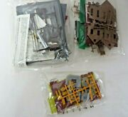 Life-like Building Lot Of 3 General Store Police Station Trackside Shanty 11508