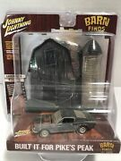 Johnny Lightning Barn Finds Diorama Rusty And03968 Ford Mustang Gt Scale Pikeand039s Peak