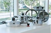 12 Piece Cooking System- Andnbspplatinum Professional Cookware. Brand New.