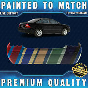 New Painted To Match - Rear Bumper Cover Fascia For 2005-2007 Ford Five Hundred