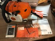 Chainsaw Stihl Ms 441 C-m With 18 Bar And Chain Brand New Read Description