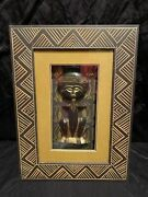 Arister Gifts 3d Shadow Box African Hand Carved Wood Fertility Statue