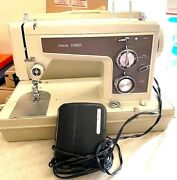Vtg 70andrsquos Sears Kenmore Portable Sewing Machine-model 158.14301-works-read All