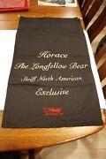 Used Steiff Horace The Longfellow Bear Exclusive Storage Bag 33 1/2 X 19 1/2