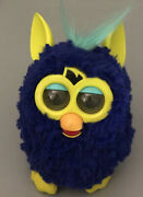 2012 Furby Starry Night Drop Blue Hello Electronic Toy