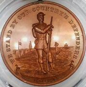 U S Civil War Medal We Stand By Our Countryand039s Defenders 1861-1865