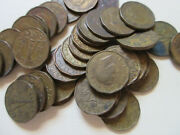 Roll Of 1943 Canada Tombak Five Cents Coins. 40 Nickel Coins Rj42