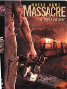 Motor Home Massacre Dvd The Road Ends Here. Used Wbarcode