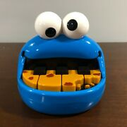Cookie Monster Sesame Street Micro Piano Eye Spinning Sounds Mattel 2007 Toy