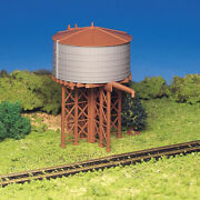 New Bachmann 45153 Plasticville Kit Water Tank Ho Scale Free Us Ship