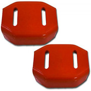 2x Snowblower Skid Shoes For Ariens 24599 Universal 2 Stage Snow Thrower Shoe