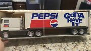 Antique/vintage Pepsi By Nylint- Steel Tough-sound Machine Semi Made In America