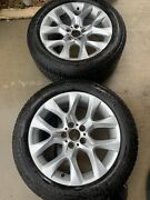 Bmw Oem X5 E70 Wheel And Tire 255/50/r19