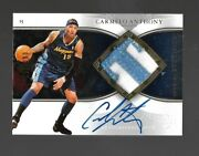 2006-07upper Deck Exquisite Carmelo Anthony Patch Auto23/100