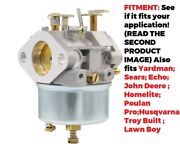 Carburetor For Toro/ariens/mtd/bolens/craftsman/stihl.... With Tecumseh Engine