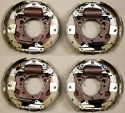 4 Replacement 12.25 Hydraulic Brake Fits Dexter 10k Trailer Axle 23-411 23-410