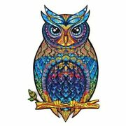Wooden Animal Jigsaw 3d Puzzles Owl Unique Birds Cartoon Educational Gifts Toys