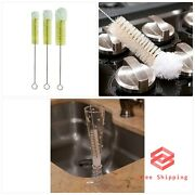 Casabella Soft Tip Brushes Set Of 3 Bottle Cleaning Cleaner Tool Free Shipping