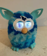 Hasbro Boom Blue Teal Waves Furby Plush Doll Toy Talking 2012 Tested