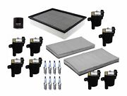Denso Filters 8 Ignition Coils And 8 Spark Plugs Tune Up Kit For Chevy Gmc Cady V8