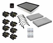 Denso Filters And Wires 8 Ignition Coils And 8 Spark Plugs Tune Up Kit For V8