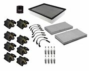 Denso Filters And Wires 8 Ignition Coils And 8 Spark Plugs Tune Up Kit For Ohv V8