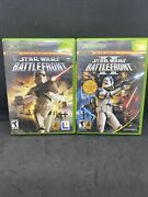 Star Wars Battlefront 1 And 2 Bundle For Original Xbox Console