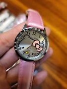 Lot 10 Watches Asst Color - Hello Kitty Watch Stainless Steel 1 1/2 Dia