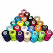 200 Pc Lots Spools Sewing Thread Silk Assorted Colorful Every Each Spool