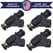4pcs New Fuel Injector For 2002-2010 Mercury For 30andnbsp 40andnbsp 50andnbsp 60 Hp Efi