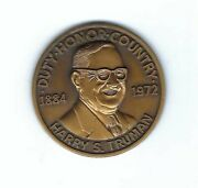 1972 President Harry Truman Commemorative United States Seal Eagle Medal Coin