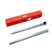 Wright Tool 8447 Torque Wrench Ratchet 200-1000ft/lbs W/ Case And Extension Bar