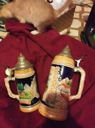 beer Steins From West Germanyone Small One Large Perfect Condition Never Used
