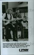 1993 Press Photo Vince Gill And Albert Lee On American Music Shop On Tnn.