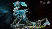 Infinity And Uncle Guang Venue Version Blue Big Chi Long Statue Collectible Model