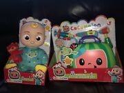 Cocomelon Musical Bedtime Jj Doll Soft 10 Plush Sing Toy And Doctor Check Up Set