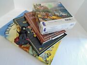 Reduced Wizard Of Oz Collection Of Books, Puzzle, 2 Hardcover And The Manuscript