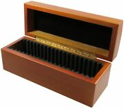 20 Certified Coin Wood Storage / Display Box Pcgs / Ngc / Premier / Little Bear