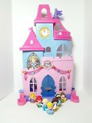 Fisher-price Little People Disney Princess Magical Palace And 7 Princess Figures
