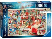 Ravensburger Christmas Is Coming 1000 Piece Jigsaw Puzzle New 24th Ltd Edition