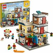 Lego Creator 3 In 1 Set Townhouse Pet Shop And Cafe 969 Pieces 31097 New