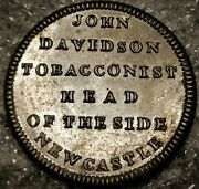 1850and039s J. Davidson W-938 R-3 Tobacconist - New Castle England