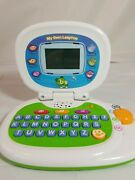 Leapfrog My Own Leaptop Laptop Toy Green Blue Computer Learning Abc 19150