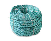 Cwc 8 Braid Blue Steelandtrade Rope - 2 X 600and039 Teal W/dk Blue Tracer