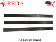 13-1/8 X 1 X 1/8 Tct Carbide Planer Jointer Knives Blades Delta Rc-33 Rockwell